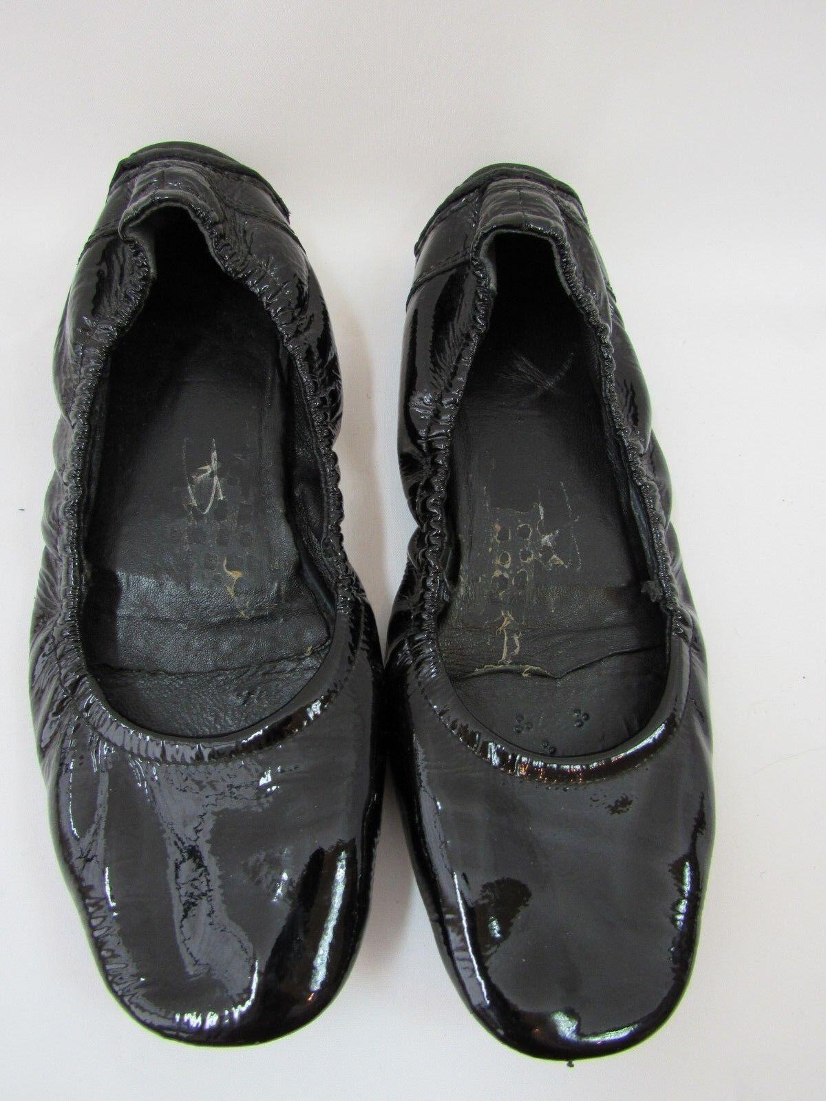 Prada Ballet Flats nero Patent Leather