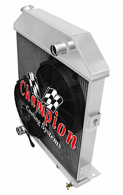 3 Row Ace Champion Radiator for 1939 1940 1941 Ford Deluxe Chevy Configuration