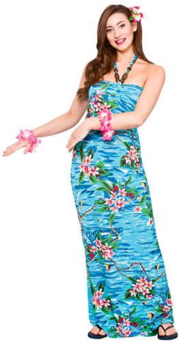 Vahiné Hawaii Robe Kailua Beach nouveau-femmes Carnaval déguisement K
