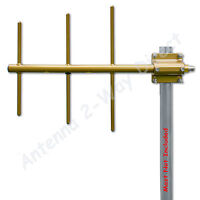 Yagi 3 Element Base Antenna Uhf 450-470 Mhz 7.1dbd Commercial Grade