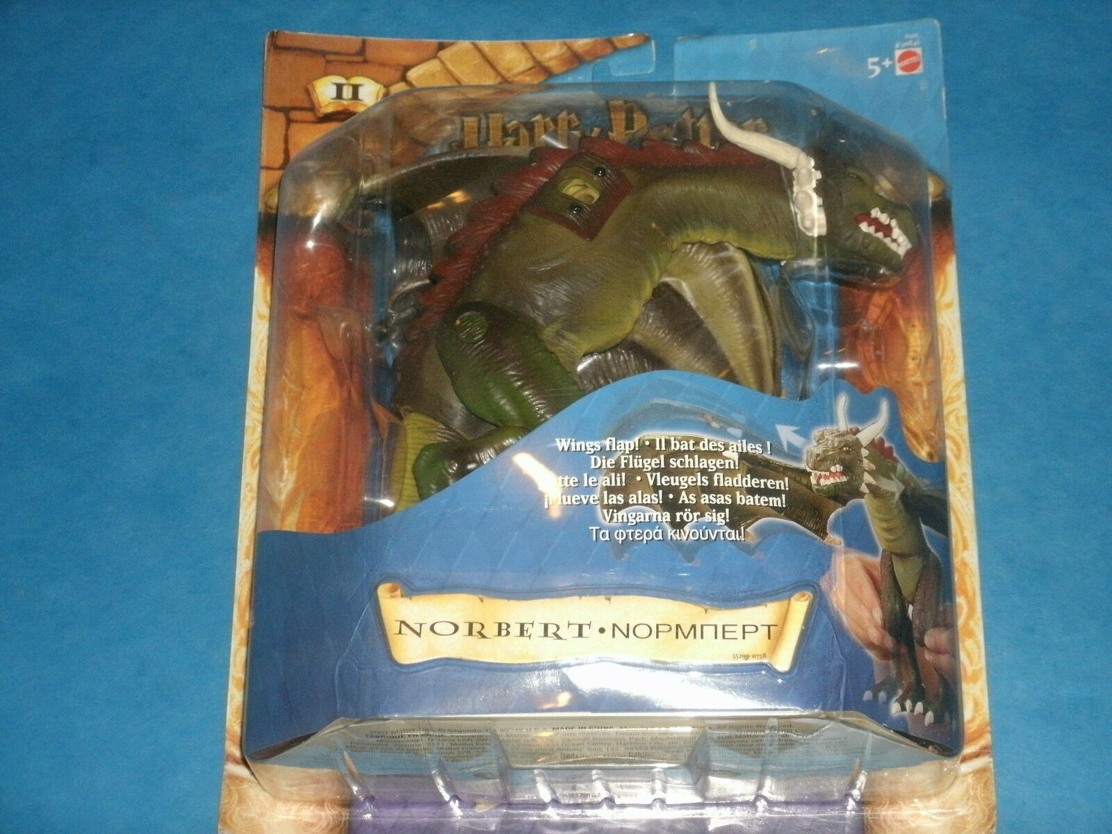 Harry Potter Action Figure  NORBERT The Dragon Warner Bros 2001 Fantastic Beast