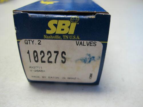 SBI 10227S Engine Valves fits NISSAN 2389cc 2.4L KA24DE DOHC 16 VAL 2 pcs