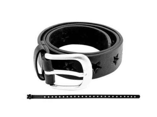 Bb Klostermann niños cinturón con asterisco negro aprox 60cm 22184
