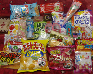 Japan-Candy-chips-snack-drink-sweets-set-BOX