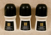 3 Avon Chic In Black Roll On Antiperspirant Deodorant Lot Discontinued