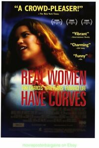 Reale-Donna-Avere-Curve-Film-Poster-2002-Film-27x40