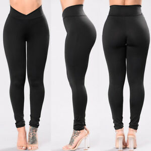 Women-Compression-Tights-Fitness-Pants-Running-Sports-Gym-Yoga-Base-Layer-Pants