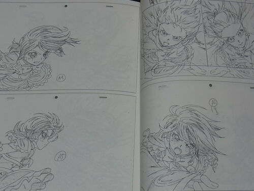 Takeshi Morita Animation Key Frame Art Book CANDY CARNIVAL 11 PRECURE etc C95