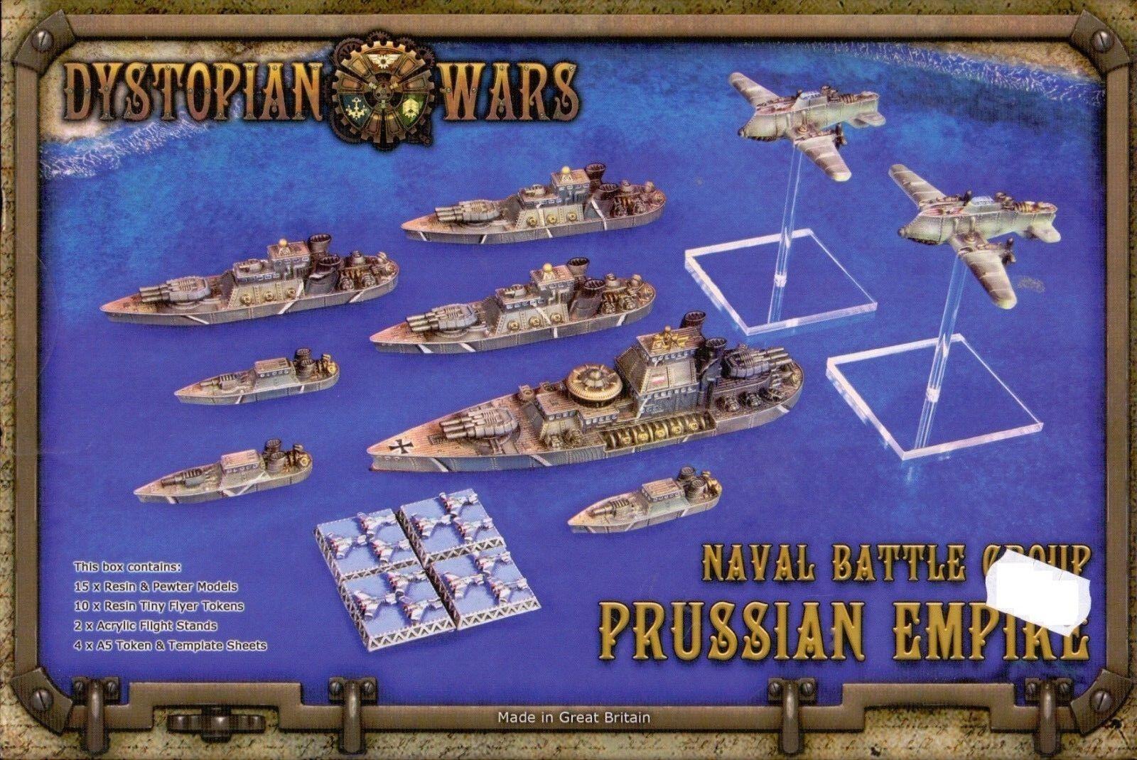 SPARTANO GAMES DISTOPICO WARS NAUTICO BATTAGLIA PRUSSIANO IMPERO BOX