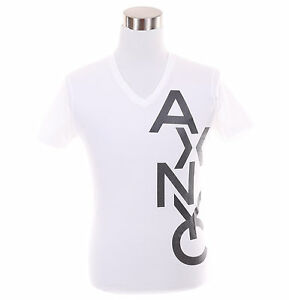 d0db59494d3 Details about Armani Exchange AX Mens Logo Eagle V-Neck Graphic Tee T-Shirt  - Free $0 Ship