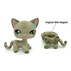 Littlest Pet Shop European 483 Girl S Collection Lps Figure Lps Toys Brown Cat Ebay