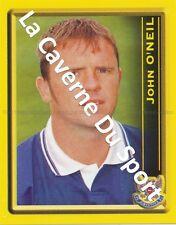N°408 JOHN O'NEIL SCOTLAND St. JOHNSTONE.FC STICKER PANINI SCOTTISH LEAGUE 2000