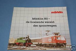 Marklin Katalog Catalog 1984/85 NL
