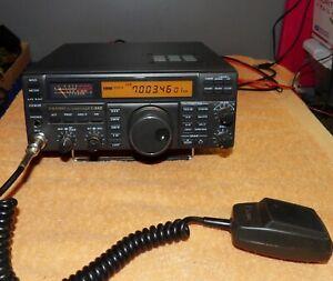 Yaesu Ft 840 Amateur Hf Transceiver Ham Radio W Yaesu Mh 1 Mic Ebay