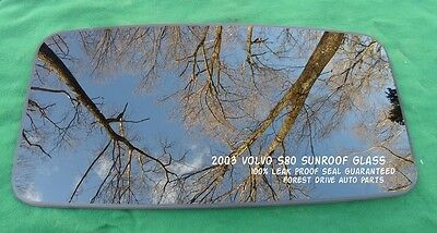 2001 VOLVO S60 OEM SUNROOF GLASS 100/% LEAK PROOF SEAL GUARANTEED!