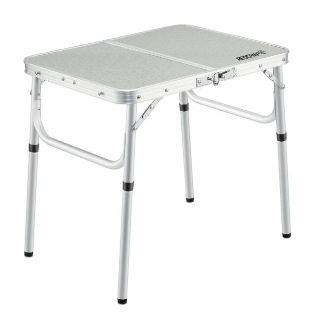 Redcamp Small Folding Table Adjustable Height X10 2