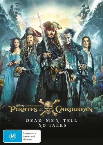 1 of 1 - Pirates Of The Caribbean 5 Dead Men Tell No Tales BRAND NEW SEALED R4 DVD