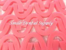 Bite Block Wax Horseshoe Occlusal Rims 100box Soft Pink Dental Laboratory