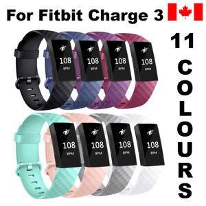 For-Fitbit-Charge-3-Band-Replacement-Wrist-Strap-Silicone-Smart-Watch-Band-S-amp-L