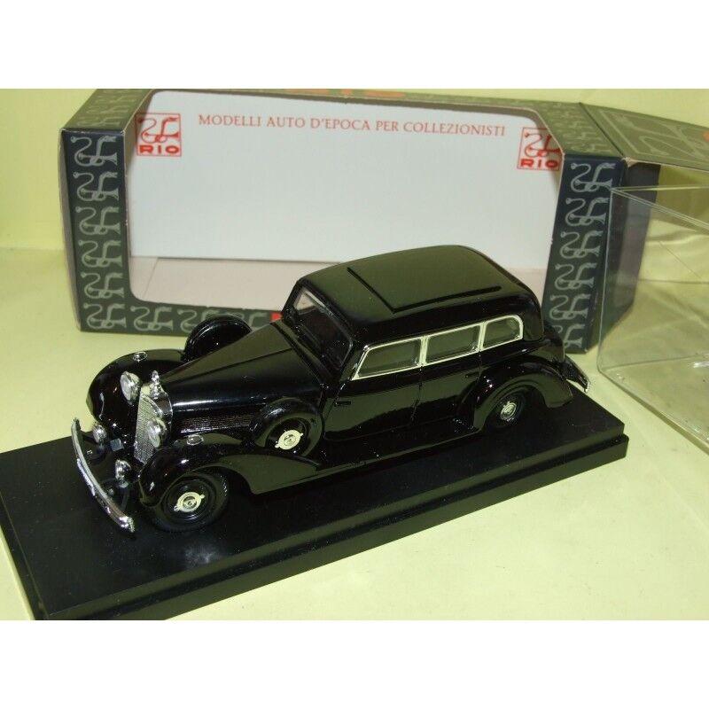 MERCEDES 770 K PULLMAN LIMOUSINE 1938 black RIO 85 1 43