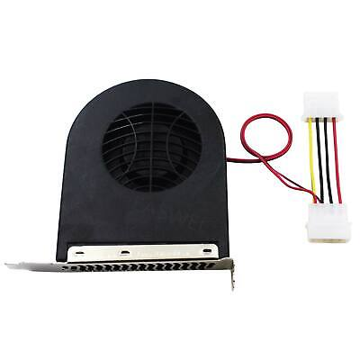 System PCI Slot Blower CPU Case DC Cooling Fan 12V 4 Pin for MAC//PC