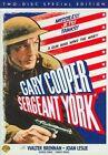 Sergeant York 0012569793750 With Gary Cooper DVD Region 1