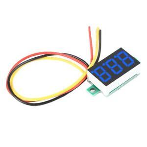 0-36-034-DC-0-100V-3-Wires-Mini-Gauge-Voltage-Meter-Voltmeter-Digital-LED-Display