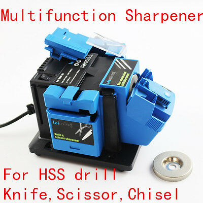 Multifunction Electric Knife Sharpener for Drill Knife Scissor Grinding Tool