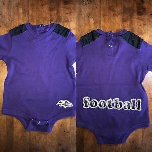 bd8c3e27 Details about Baltimore Ravens Baby Size 12 Months Bodysuit T-Shirt Jersey  NFL Football Infant