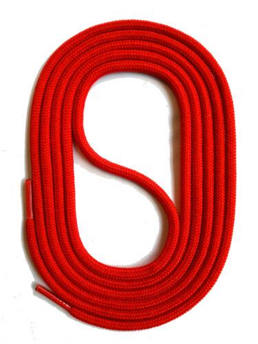 Lacets Rundsenkel rouge 60-150 cm 3 mm stable indéchirable Cordon snors