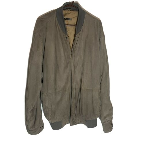 Vintage Bally of Switzerland Suede Leather Bomber