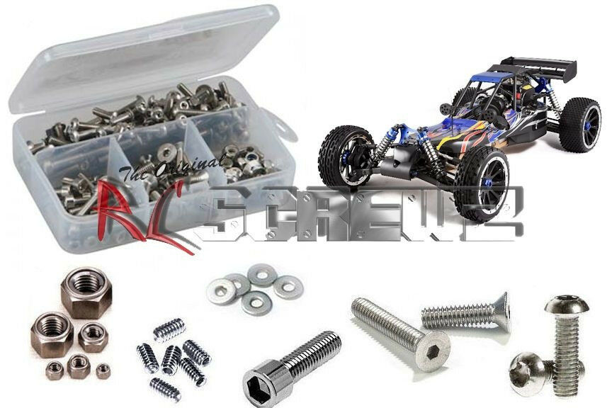 RC Screwz RCR023 rossocat Racing DuneRunner 4x4 V3 Complete Stainless Hardware NEW