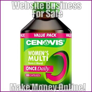 VITAMINS-AND-MINERALS-Website-Business-Earn-67-A-SALE-FREE-Domain-FREE-Hosting