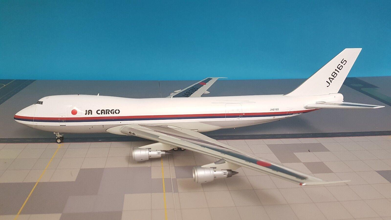 blue Kasten 1 200 Boeing 747-200 Jal Cargo Ja8165 Ref