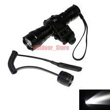 UltraFire 501B CREE XM-L L2 LED 1Mode Tactical Flashlight + Mount Remote Switch