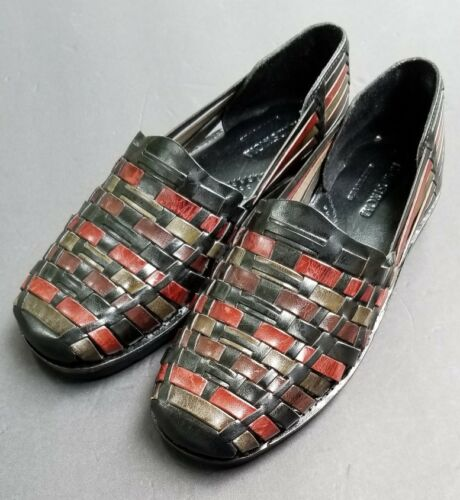 Nordstrom Woven 7.5 Huarache Slip-On shoes mens /