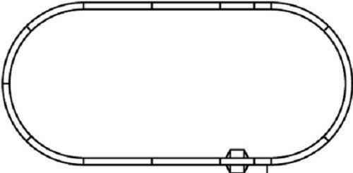KATO N SCALE 20-865 UNITRACK VARIATION SET V6 OUTER OVAL TRACK SET
