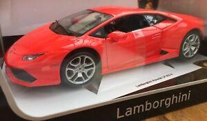 BURAGO 11038 Lamborghini Huracán LP 610-4 Modello Pressofuso Auto da Strada Corpo Rosso 1:18th