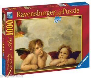 RAVENSBURGER-15544-RAFFAELLO-QUERUBINES-ANGELS-Puzzle-1000-Piezas-Pieces-Jigsaw