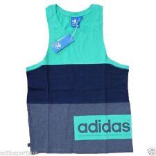 3ff15407bec720 item 5 Mens-Adidas-Originals-3-Block-Contrast-Tank -Vest-Summer-Sleeveless-Cotton-Top ...