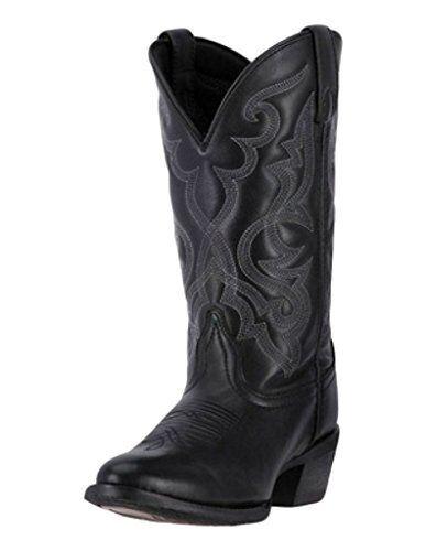 36dcdce2dd4 Laredo Western BOOTS Womens 11 Maddie Cowboy Round Toe Black 51110 6.5 M