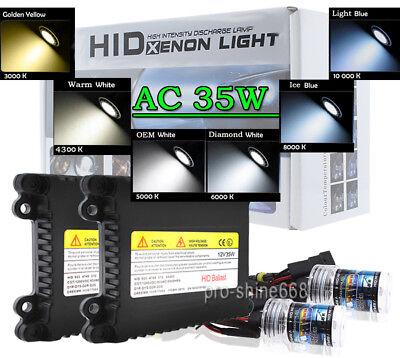 HID kit 35Watt Conversion 35w H4 H7 H11 H13 9003 9005 9006 6K 5K Hi-Lo Bi-Xenon