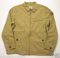 Timberland Men's Full Zip Beige/tan Cotton Jacket
