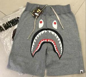 Hot sell Men/'s Japan Bape Shark Jaw head Summer A Bathing ape T-shirt M-XXL
