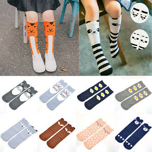 Baby Kids Toddlers Girls Knee High Socks Tights Leg Warmer Stockings For 0-6Y CA