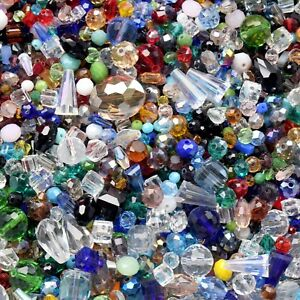 100pcs-Assorted-Glass-Loose-Beads-Bulk-Mixed-Lot-Craft-Jewelry-DIY-Making