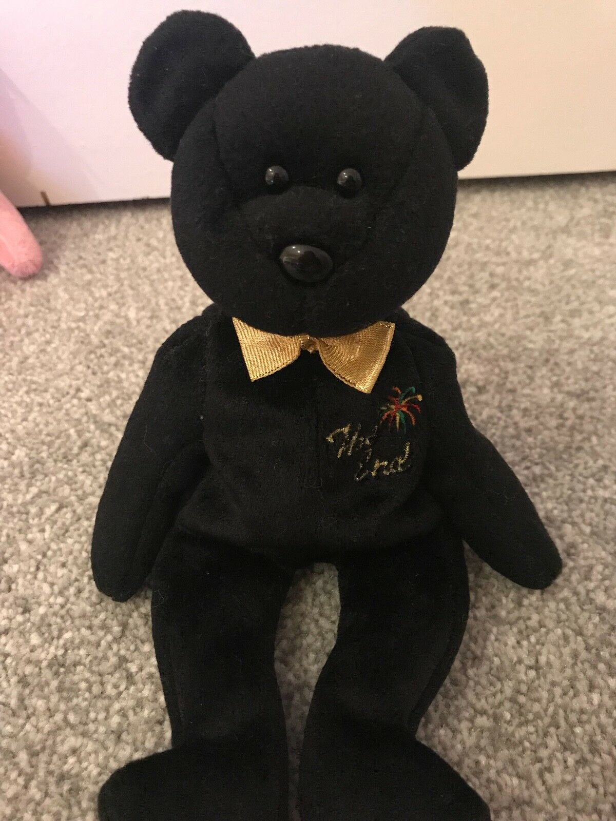 Very Rare Original Ty Beanie Baby The End Collectors item