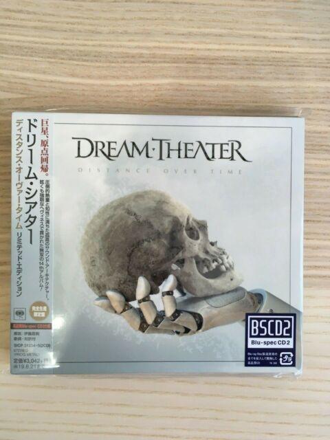 Dream Theater_Distance Over Time + Bonus Track_BLU SPEC CD2_Japan Ltd Ed. Sealed