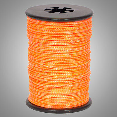 Flo//Fluorescent Pink BCY .014 Halo Archery Bow String Serving Bowstring Braided