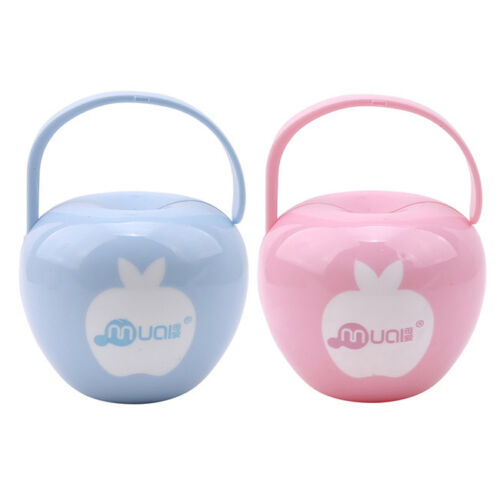 Baby Infant Kids Travel Soother Pacifier Dummy Storage Case Box Cover Holder G